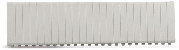Abdeckstreifen, 12 Einheiten, lichtgrau, 10 Stück - Produktbild 2
