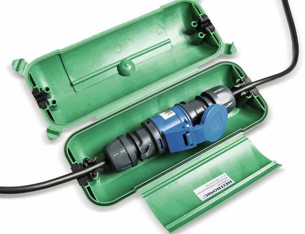 Sicherheits-Box, HEITRONIC, 21045, IP44, grün - Produktbild 2