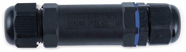 Kabelverbinder HEITRONIC 45608, 3-polig, IP68