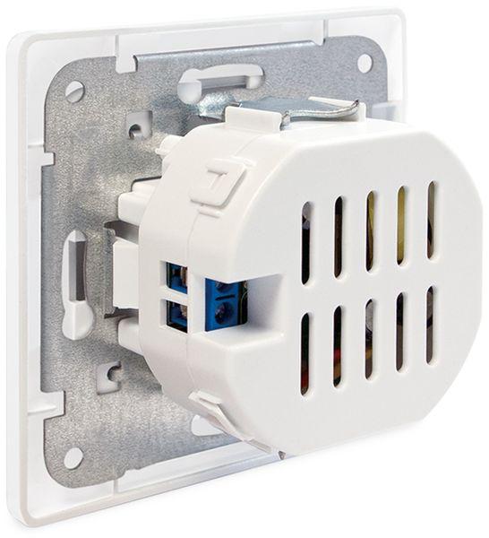 USB-Unterputzdose LOGILINK PA0163, 2x USB - Produktbild 3