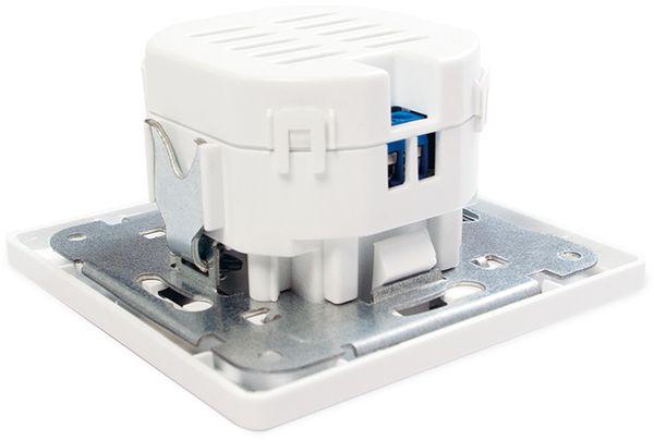 USB-Unterputzdose LOGILINK PA0163, 2x USB - Produktbild 4
