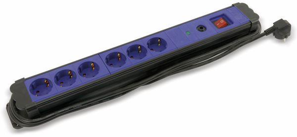 Steckdosenleiste REV, 6-fach, mit Schalter, Kinderschutz