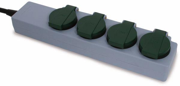 Steckdosenleiste REV, 4-fach, IP44, 10 m