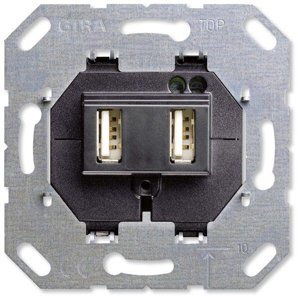 GIRA UP-Einsatz 235900, 2x USB, 2100 mA