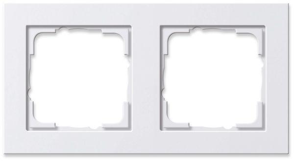 GIRA SYSTEM E2 021229, 2-fach Rahmen