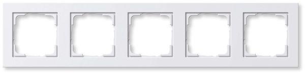 GIRA SYSTEM E2 021529, 5-fach Rahmen