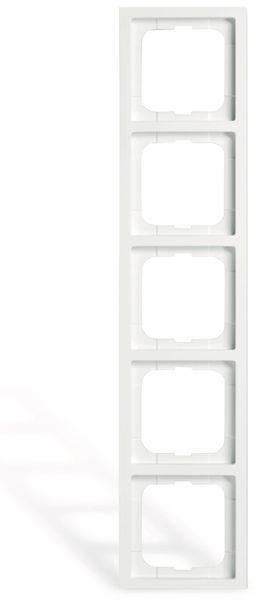BUSCH-JAEGER Future Linear 1725-184K, 5-fach Rahmen
