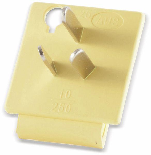 Welt-Reiseadapter mit Schutzkontakt-Steckdose, 2x USB, TÜV - Produktbild 7