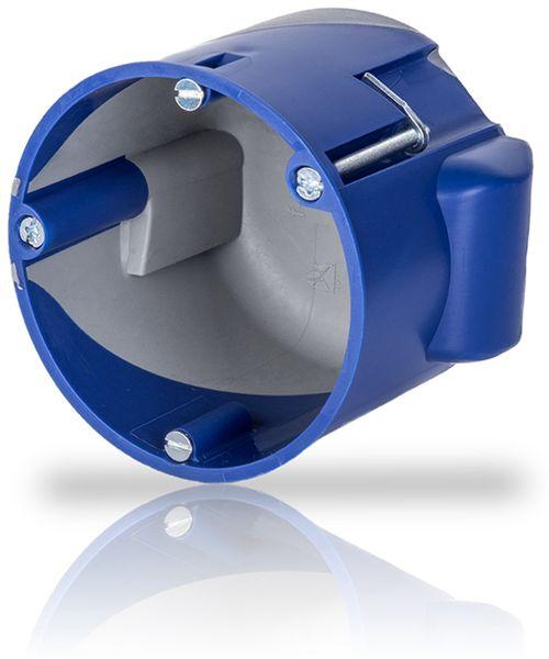 Hohlwanddose IT-Gerätedose, Ø 68 mm, T 60 mm, 10 Stück