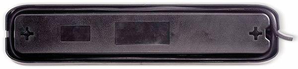 Steckdosenleiste MASTERPLUG, 4-fach,2x USB, Schalter, schwarz - Produktbild 3