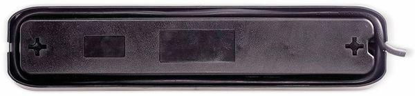 Steckdosenleiste MASTERPLUG, 6-fach,2x USB, Schalter, schwarz - Produktbild 3