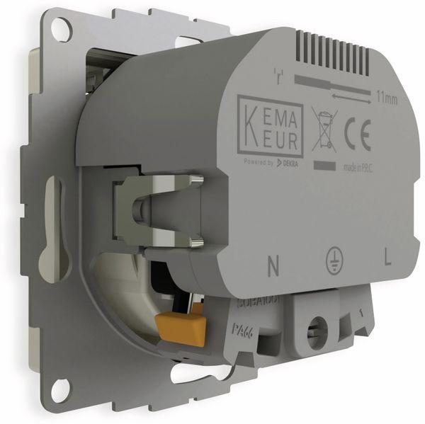 Schutzkontakt-Steckdose 2USB inCharge Pro, 2x USB, 2,4 A, reinweiß glänzend - Produktbild 6
