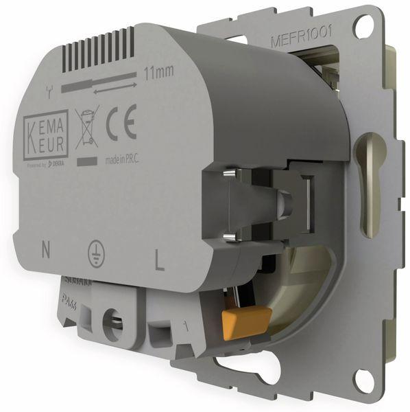 Schutzkontakt-Steckdose 2USB inCharge Pro, 2x USB, 2,4 A, cremeweiß glänzen - Produktbild 6