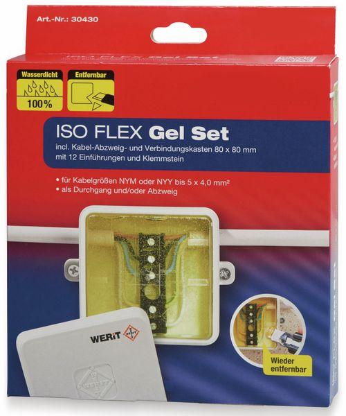 ISO Flex Gel-Set HEIDEMANN 30430, bis zu 5x4 mm², 190 ml