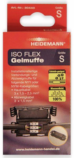 Kabelmuffe ISO Flex HEIDEMANN 30440, Größe S - Produktbild 2