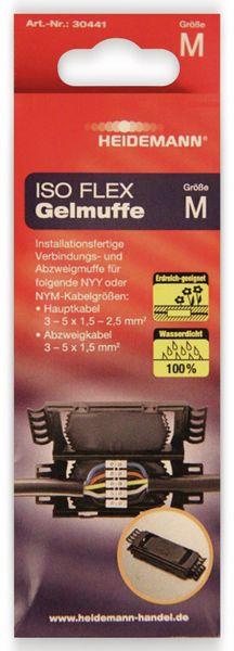 Kabelmuffe ISO Flex HEIDEMANN 30441, Größe M - Produktbild 2