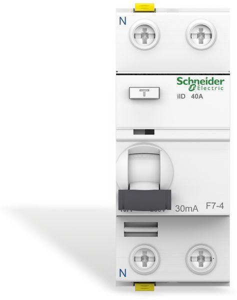 Fehlerstrom-Schutzschalter SCHNEIDER A9Z21240, 40A - Produktbild 2