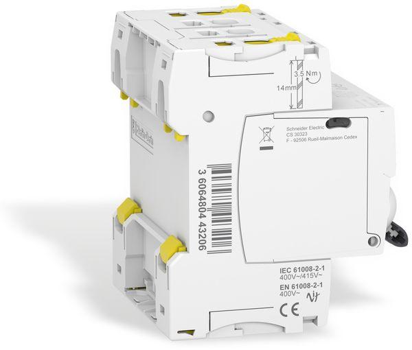 Fehlerstrom-Schutzschalter SCHNEIDER A9Z21440, 40A - Produktbild 3