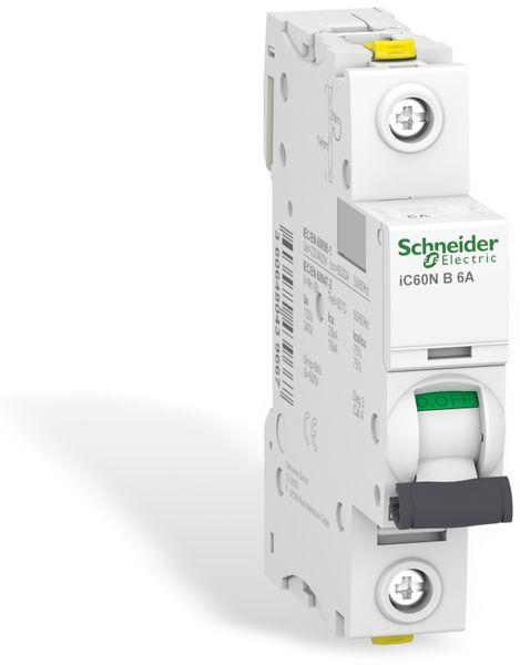 Leitungsschutzschalter SCHNEIDER A9F03106, iC60N, B, 6A - Produktbild 1