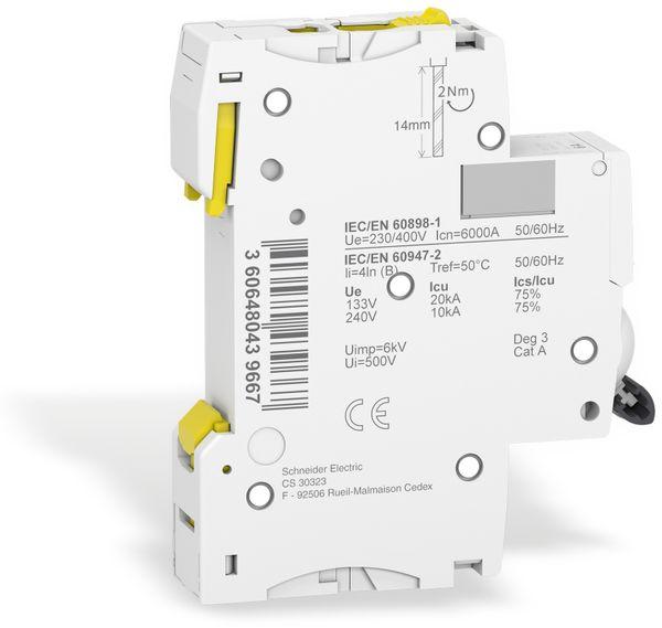 Leitungsschutzschalter SCHNEIDER A9F03106, iC60N, B, 6A - Produktbild 3