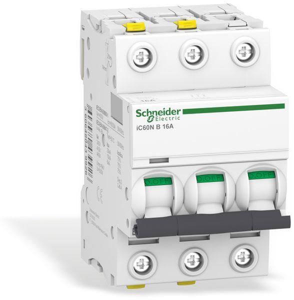 Leitungsschutzschalter SCHNEIDER A9F03316, iC60N, B, 16A - Produktbild 1