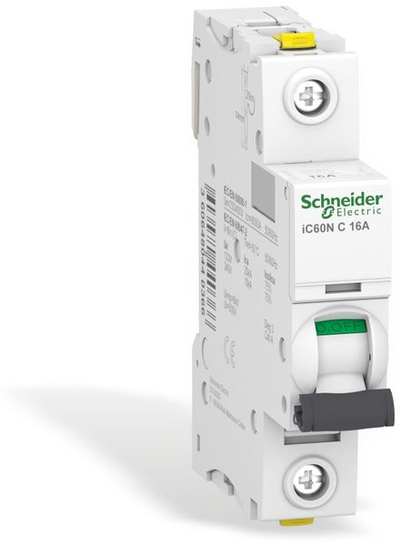 Leitungsschutzschalter SCHNEIDER A9F04116, iC60N, C, 16A