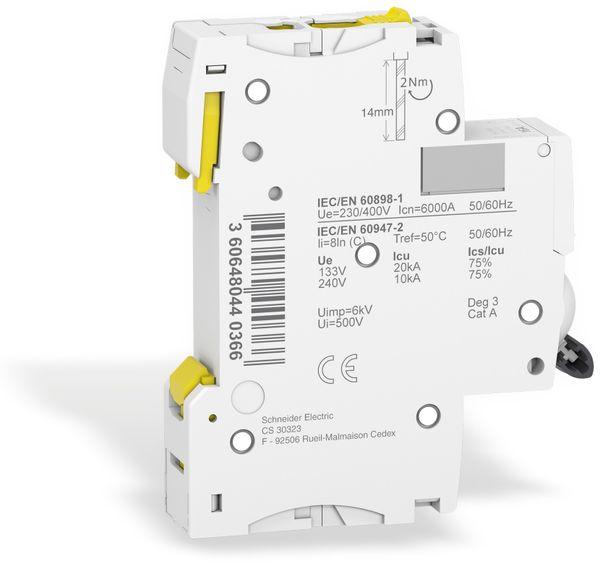 Leitungsschutzschalter SCHNEIDER A9F04116, iC60N, C, 16A - Produktbild 3