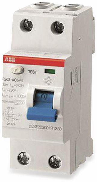Fehlerstrom-Schutzschalter ABB F202A-40/0,03, 40A