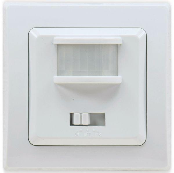 Bewegungsmelder DELPHI, 400 W, 160°, LED geeignet, weiß