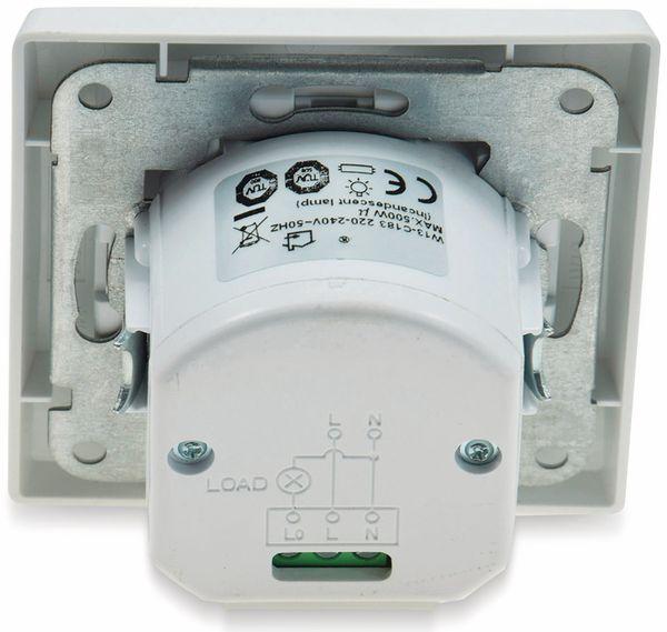 Bewegungsmelder DELPHI, 400 W, 160°, LED geeignet, weiß - Produktbild 3