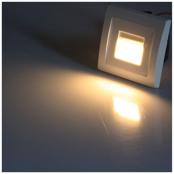 LED-Einbauleuchte DELPHI, 3000k, ww, 110 lm, EEK A+ - Produktbild 3