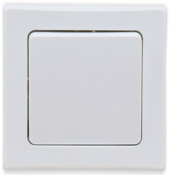 Kreuzschalter DELPHI, 10A/250V, weiß