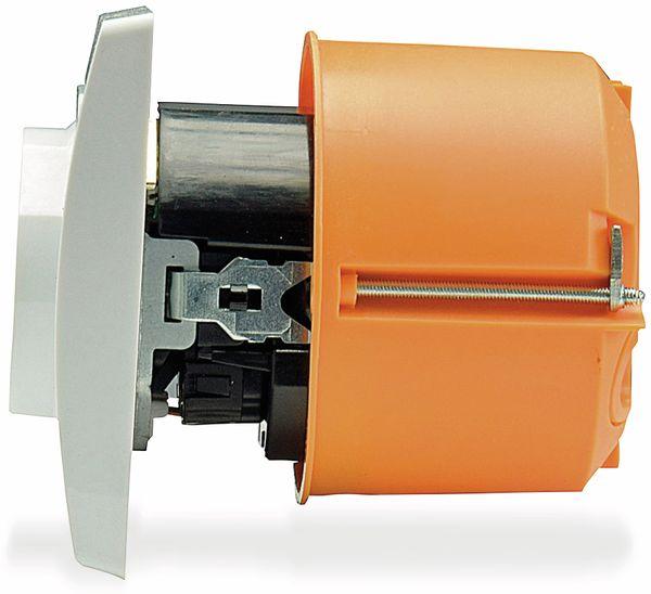 Schutzkontakt-Steckdose DELPHI, 16A/250V, weiß, 2x USB - Produktbild 4