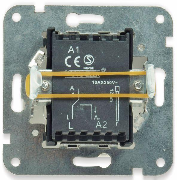 Wechselschalter DELPHI, Klemmanschluss, 10A/250V, weiß - Produktbild 2
