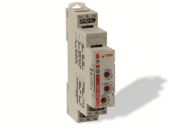 Zeitrelais RELPOL RPC-2MA-UNI, 2 Wechsler, 10 Funktionen