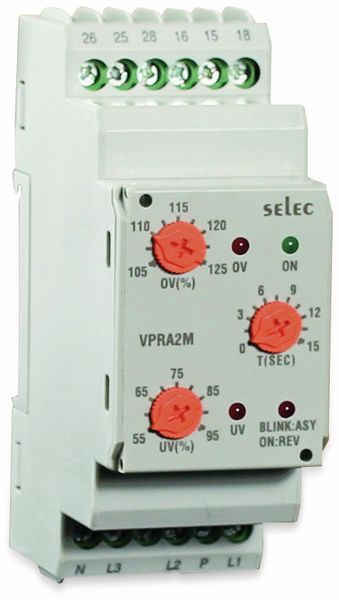 Spannungsschutzrelais SELEC VPRA2M