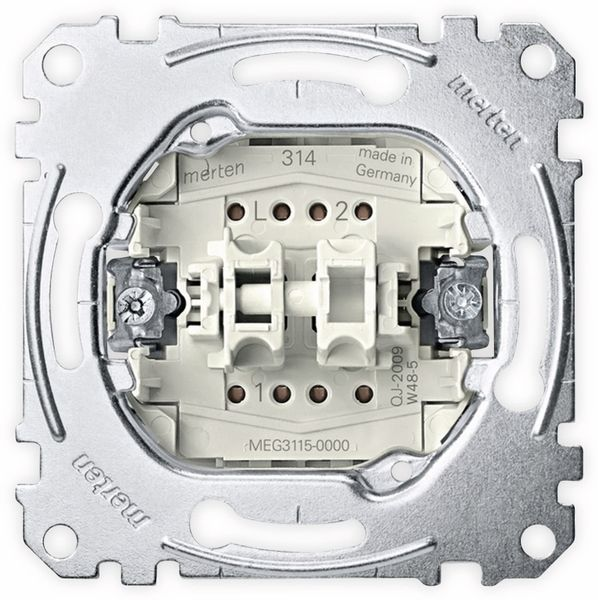 MERTEN MEG3115-0000, Unterputzeinsatz, Wippschalter Serienschalter