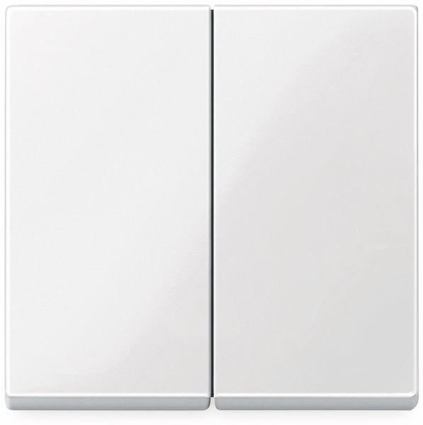 MERTEN System M, 432519, polarweiß glänzend, Serienwippe