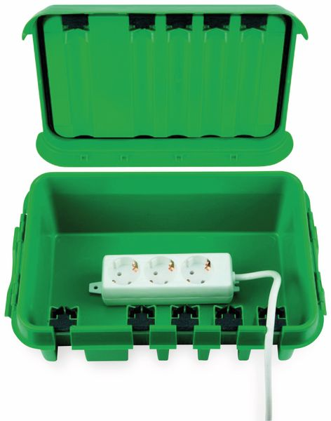 Sicherheits-Box HEITRONIC DRiBOX, 285x150x110, grün - Produktbild 2