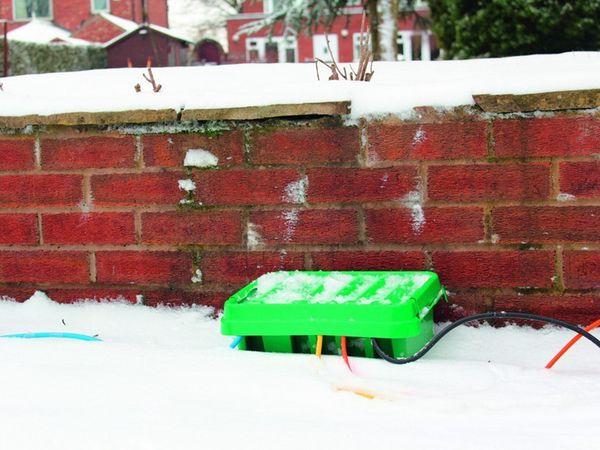 Sicherheits-Box HEITRONIC DRiBOX, 285x150x110, grün - Produktbild 4
