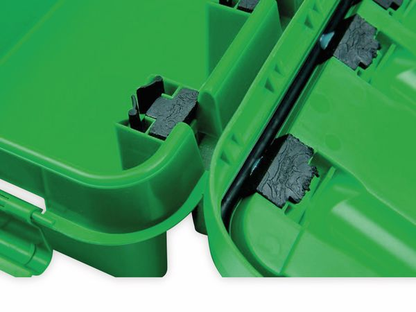 Sicherheits-Box HEITRONIC DRiBOX, 285x150x110, grün - Produktbild 5