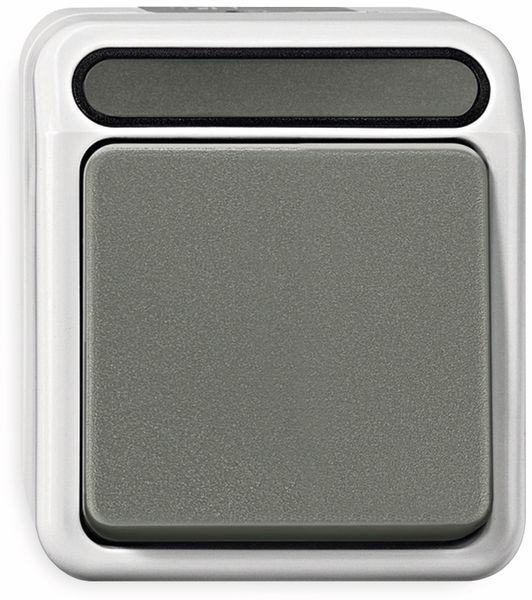 Feuchtraum-Schalter MERTEN MEG3116-8029, Aus/Wechsel-Schalter