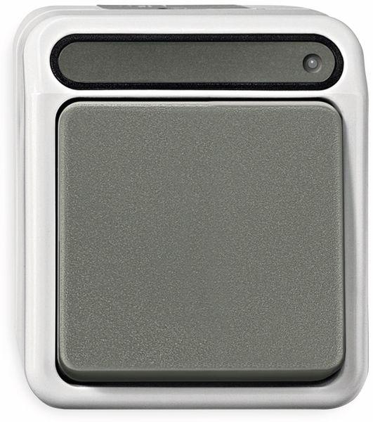 Feuchtraum-Schalter MERTEN MEG3106-8029, Kontroll-Wechselschalter