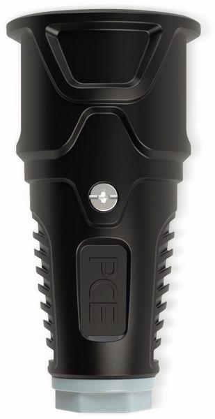 Gummi-Schutzkontaktkupplung PCE Taurus2, schwarz/grau