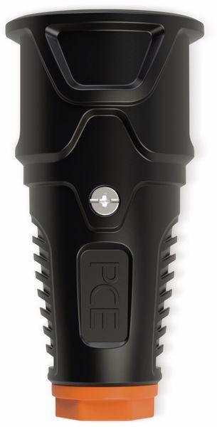 Gummi-Schutzkontaktkupplung PCE Taurus2, schwarz/orange
