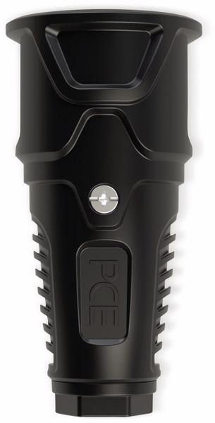 Gummi-Schutzkontaktkupplung PCE Taurus2, schwarz