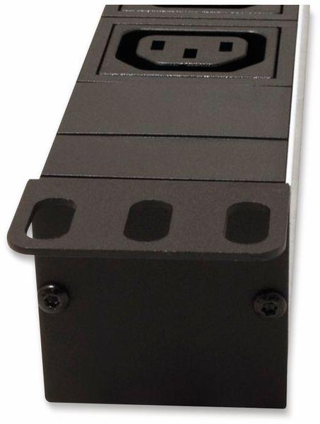 "Steckdosenleiste ROLINE, 19"", 8-fach C13, C20 Stecker, Aluminium - Produktbild 2"