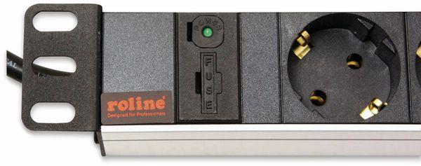 "Steckdosenleiste ROLINE, 19"", 8-fach, C14 Stecker, Aluminium - Produktbild 4"