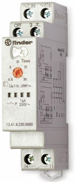 Stromstoß-Schalter FINDER 13.61.8.230.0000, 4 Funktionen, 230 V