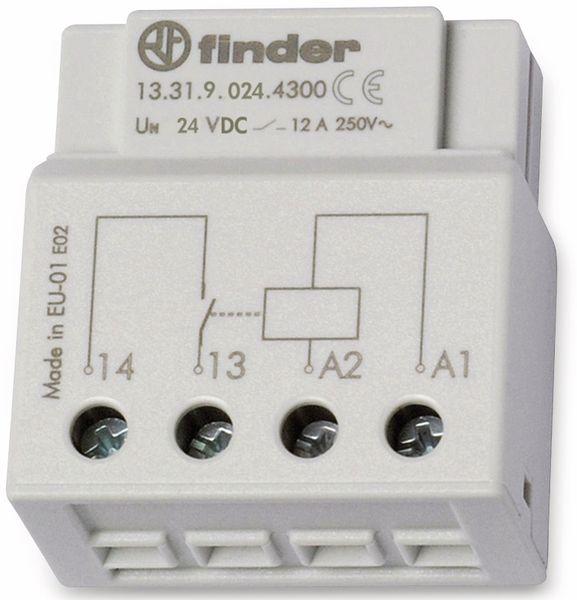 Schaltrelais FINDER, 24 V, 12 A, 13.31.9.024.4300, UP